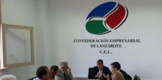 El Presidente del Gobierno de Canarias trata con la CEL los asuntos de mayor preocupación para el sector empresarial en la Isla.